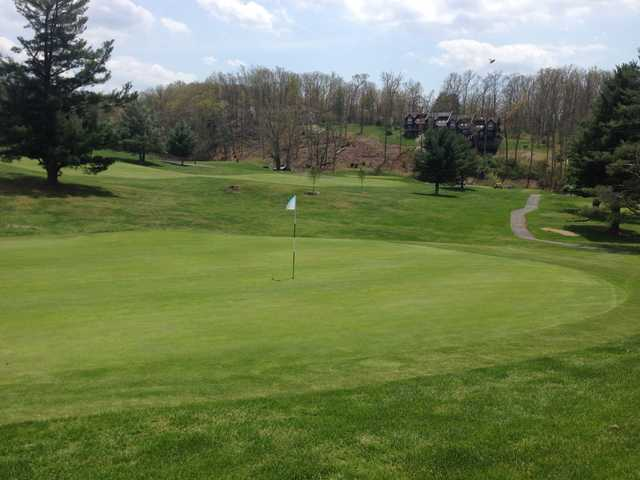 A view of a hole at Lewisburg Elks Country Club