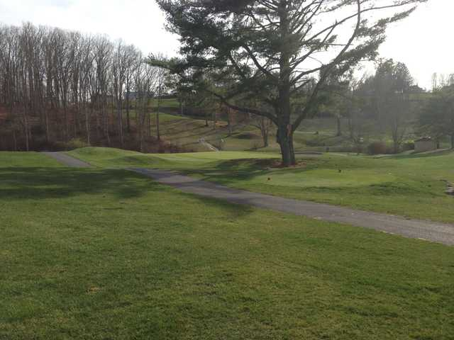 A view of a tee at Lewisburg Elks Country Club