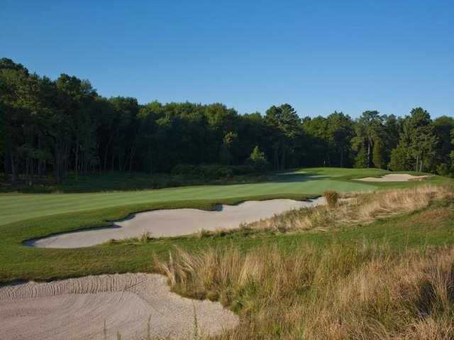 A view of a fairway at Metedeconk National Golf Club