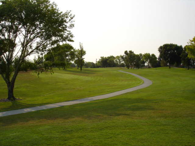 A view from the Ridgemark Golf & Country Club