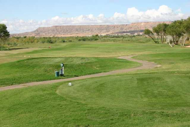 A view from tee #3 at Coyote Willows Golf Club.