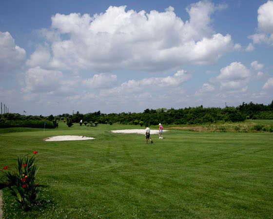 A view from Cedar Beach Golf Course