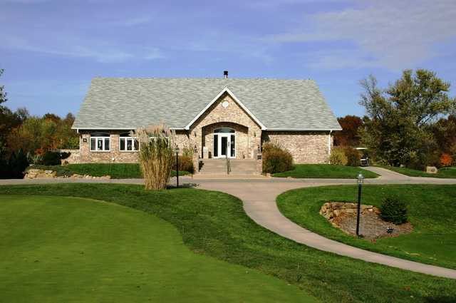 A view of the clubhouse at Governors Run Golf & Country Club