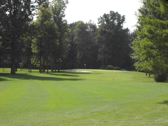 A view from a fairway at Eagle Vale Golf Course