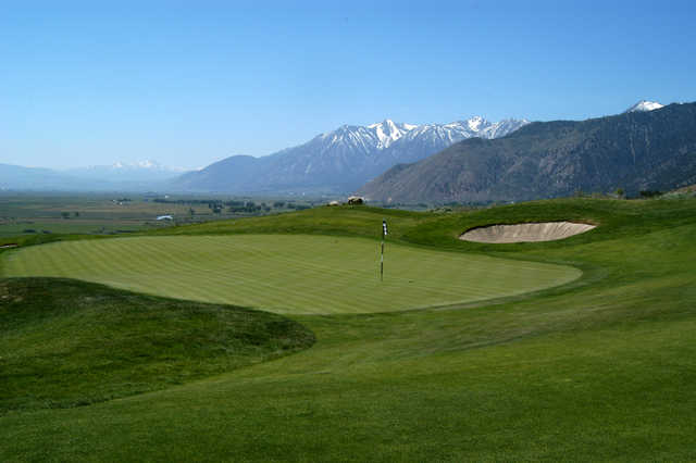 A view of the 4th hole at Ranch Course from Genoa Lakes Golf Club