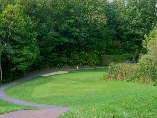 A view of a hole from Woodcliff Hotel & Spa Golf Course