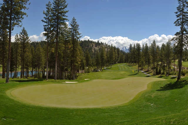 A view of hole #15 at Coyote Moon Golf Course