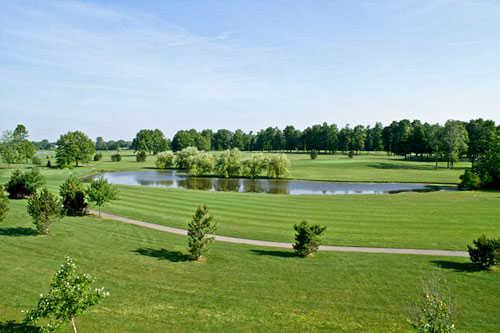 A view from Mallard Creek Golf Club