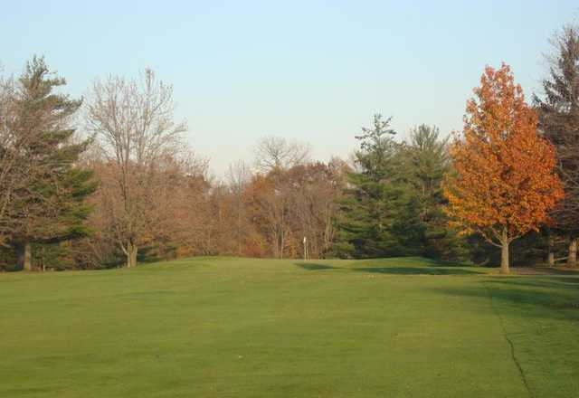 A view from the 8th fairway at Forest Hills Golf Course