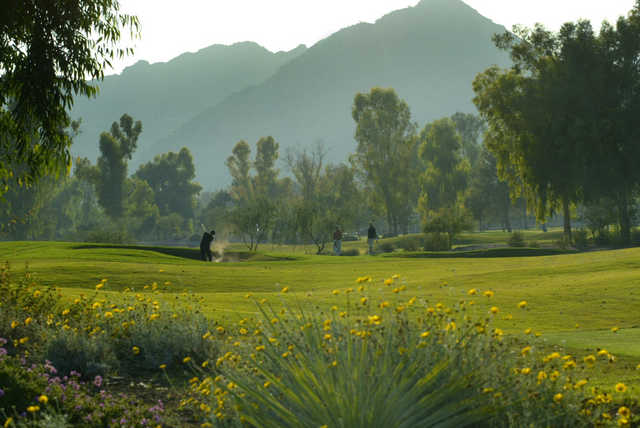A view from Ambiente Course at Camelback Golf Club