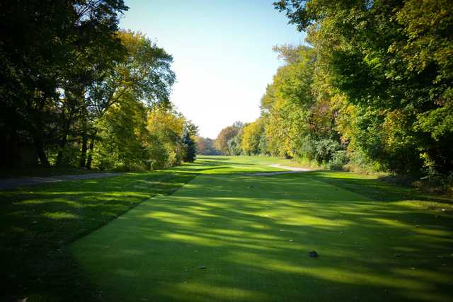 A view from a tee at Shaker Heights Country Club