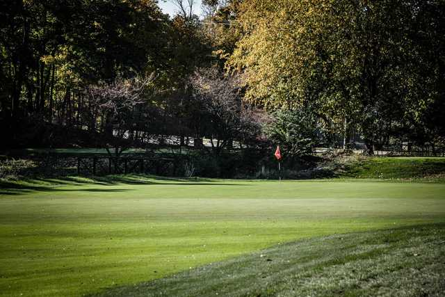 A view of a green at Shaker Heights Country Club