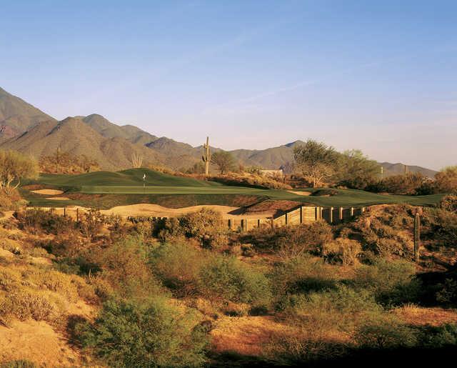 A view of the 11th hole at Grayhawk Golf Club - Talon