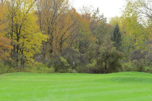 A view of a hole at North Olmstead Golf Club