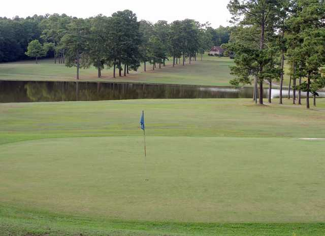 A view of a hole from Links at Briarmeade