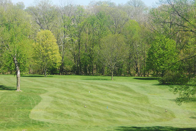 A view from a tee at Cherry Ridge Country Club
