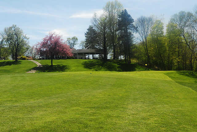 A view of a green at Cherry Ridge Country Club