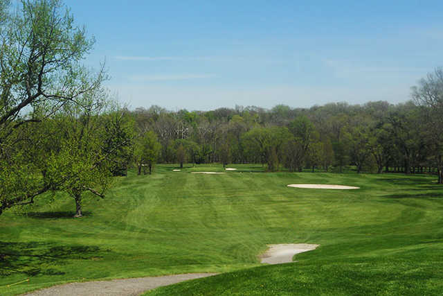 A view of a fairway at Cherry Ridge Country Club