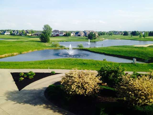 A view from Fox Meadow Country Club