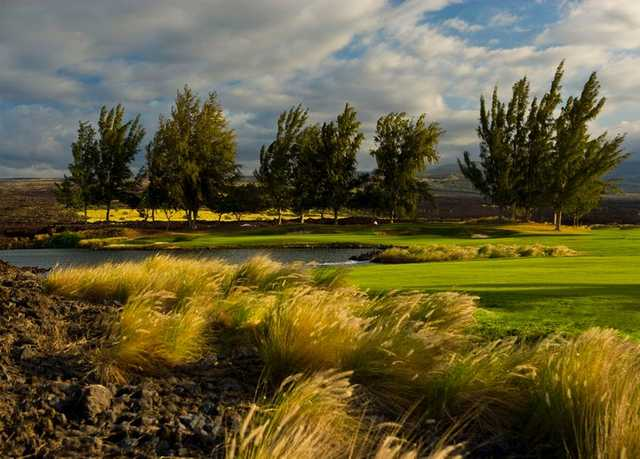 A view from Kings' Course at Waikoloa Beach Resort