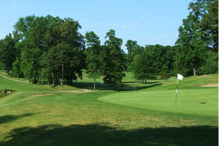 View of a green from Black Brook Golf Course