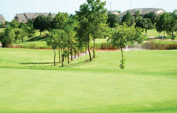 A view from The Links at Oklahoma City Golf & Athletic Club