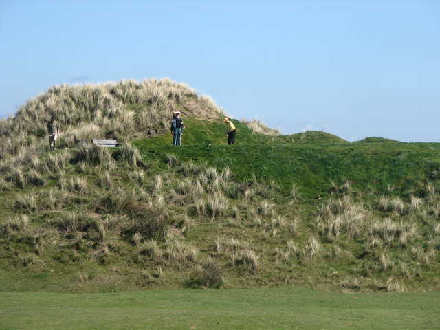 A view of hole #12 at Laytown and Bettystown Golf Club