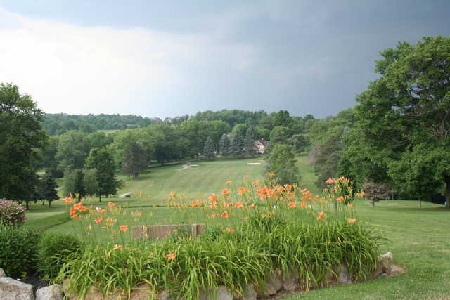 A view from Manor Valley Country Club