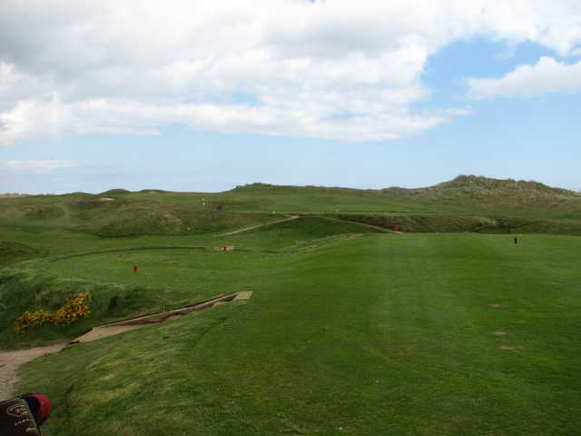 A view of hole #16 at Laytown and Bettystown Golf Club