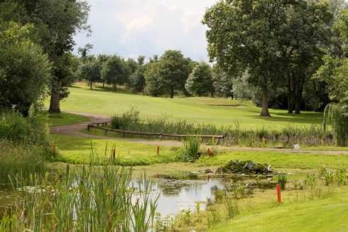 A view from tee #13 at Bletchingley Golf Club