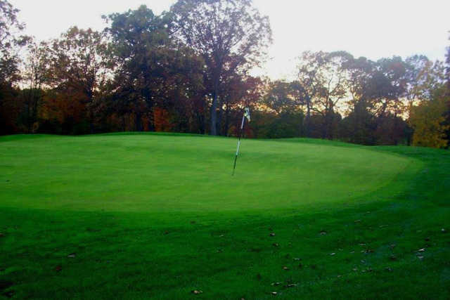A view of the 4th hole at Harmony Ridge Golf Club