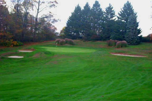 A view from the 3rd fairway at Harmony Ridge Golf Club