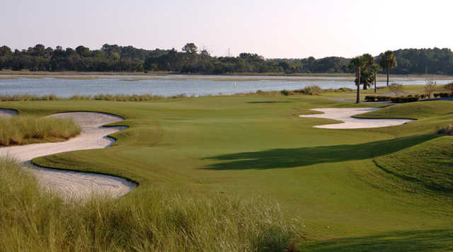 A view of fairway #9 at Oak Point at Kiawah Island Golf Resort