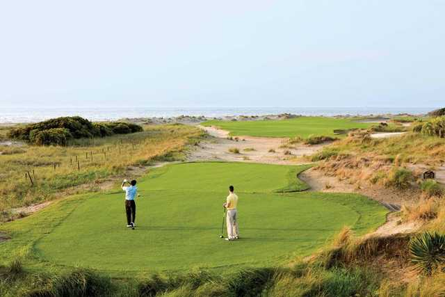 A view from a tee at Links from Wild Dunes Golf Links