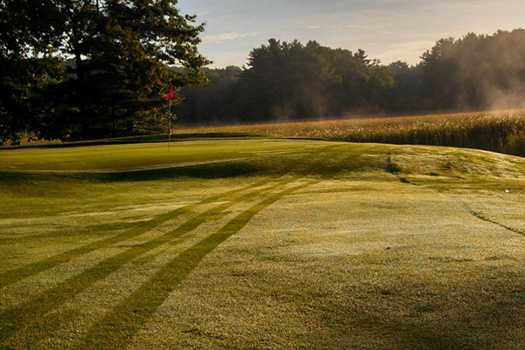 A view of a green at Exeter Country Club