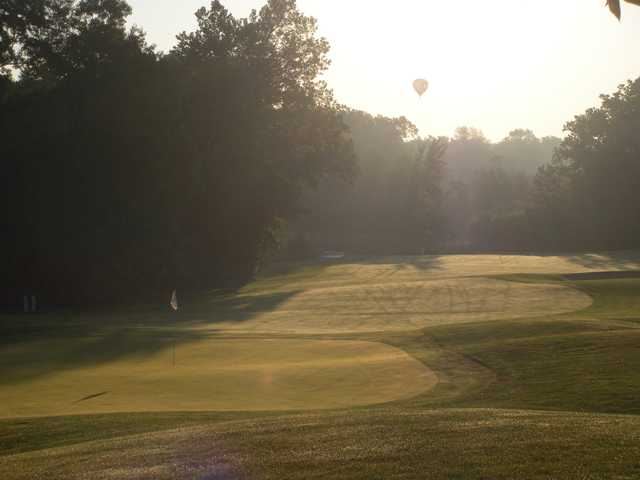 A sunrise view from Heritage Glen Golf Club