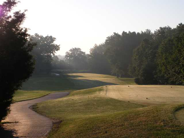 A view from tee #10 at Heritage Glen Golf Club