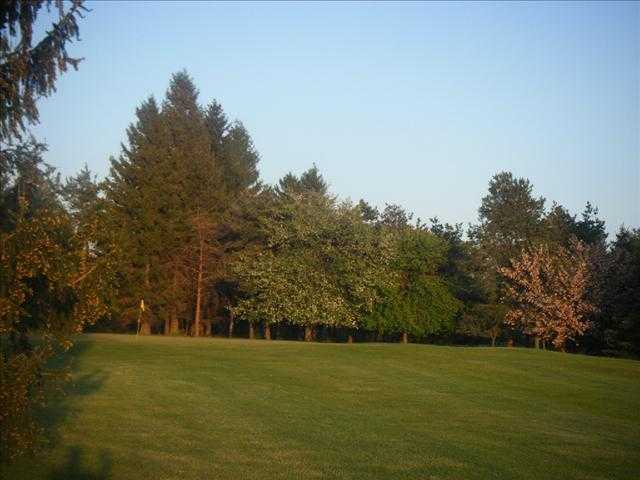 A view from a fairway at Big Oak Golf Course