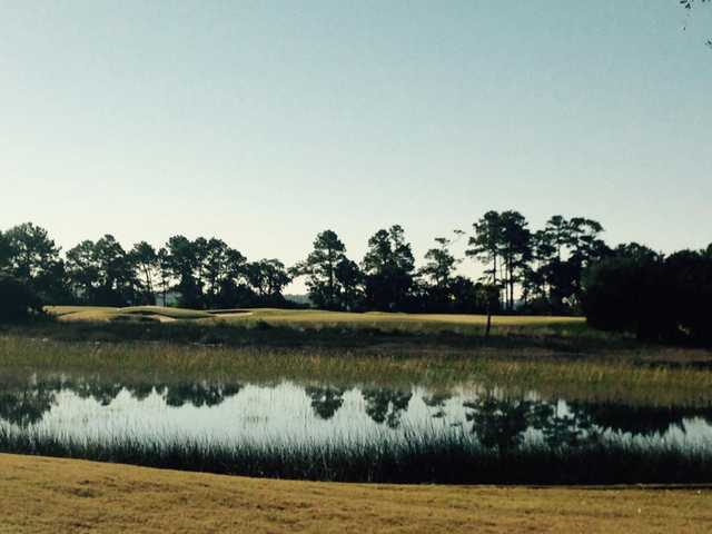 A view over the water from The Golf Club At Briar's Creek