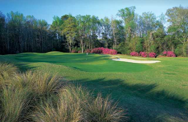 A view of a green at Brays Island Plantation Golf Club