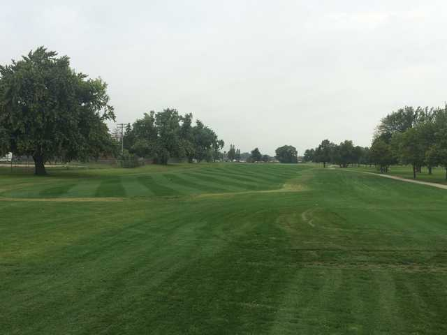 A view of the 7th fairway at East Nine from Elmwood Golf Club