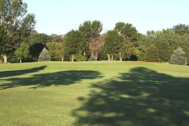 A view of a green at Brandon Golf Course