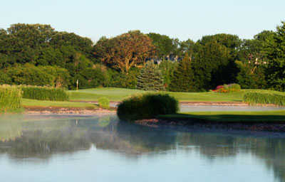 A view over the water from Brandon Golf Course