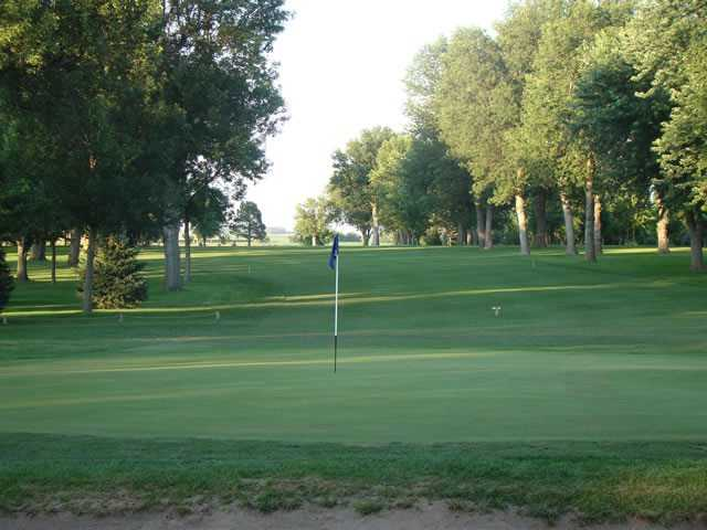 A view of the 2nd hole at Luverne Country Club
