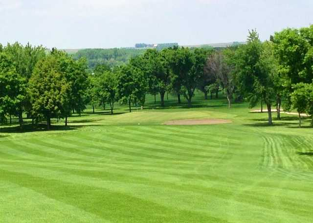 A view from fairway #8 at Rock Valley Golf Course
