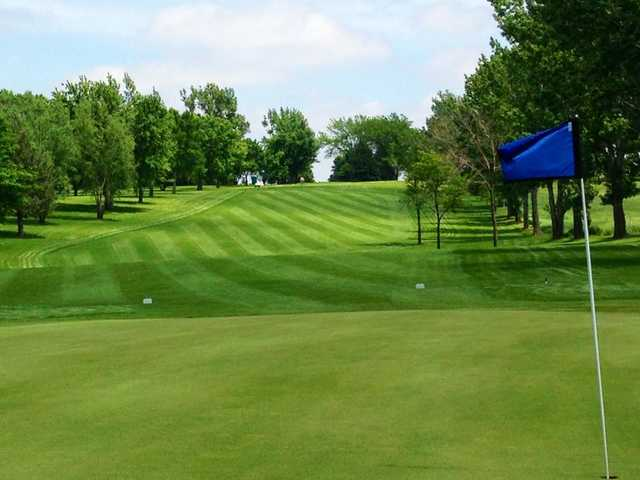 A view from the 3rd green at Rock Valley Golf Course