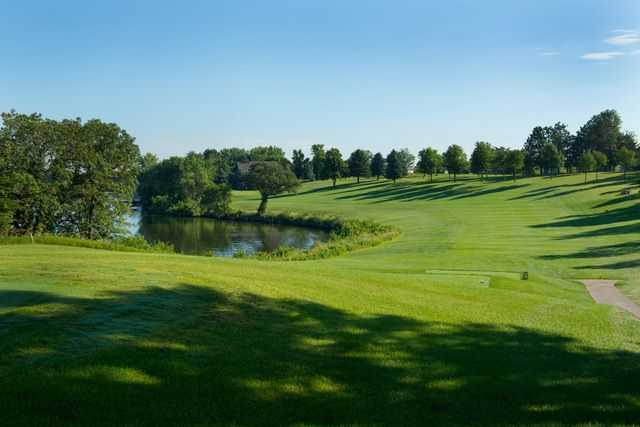 A view from a tee at Brookings Country Club