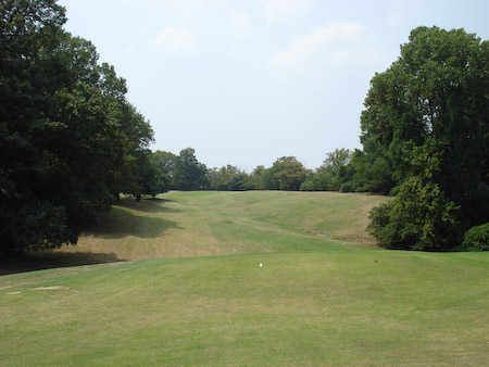 A view from tee #1 from The Links at Riverside