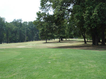 A view of the 9th fairway from The Links at Riverside