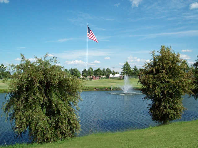 A view from Marion Lakes Golf & Athletic Club